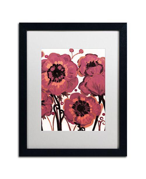 "Trademark Global Natasha Wescoat '006' Matted Framed Art - 16"" x 20"""