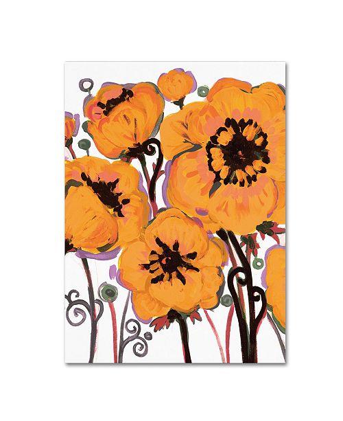 "Trademark Global Natasha Wescoat '008' Canvas Art - 35"" x 47"""