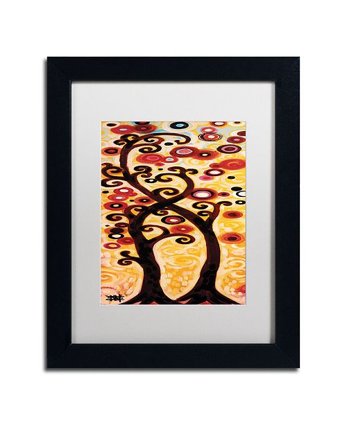 "Trademark Global Natasha Wescoat '012' Matted Framed Art - 11"" x 14"""