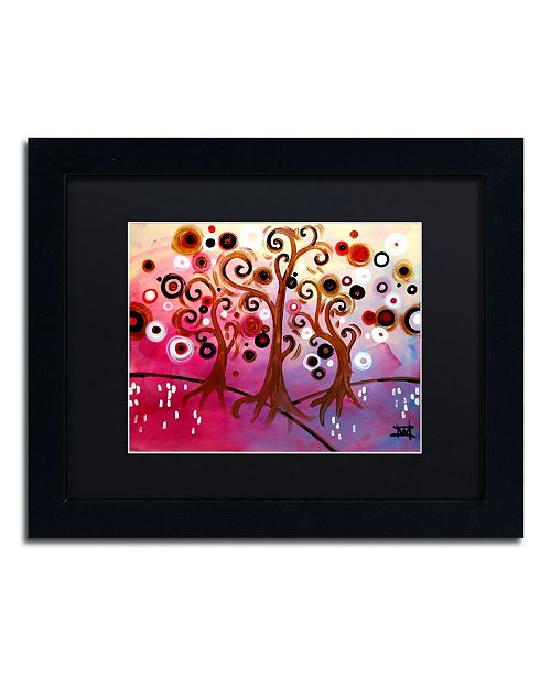 "Trademark Global Natasha Wescoat '029' Matted Framed Art - 11"" x 14"""