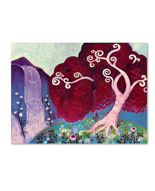 "Trademark Global Natasha Wescoat '031' Canvas Art - 24"" x 32"""