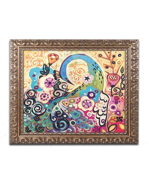 "Trademark Global Natasha Wescoat '046' Ornate Framed Art - 11"" x 14"""