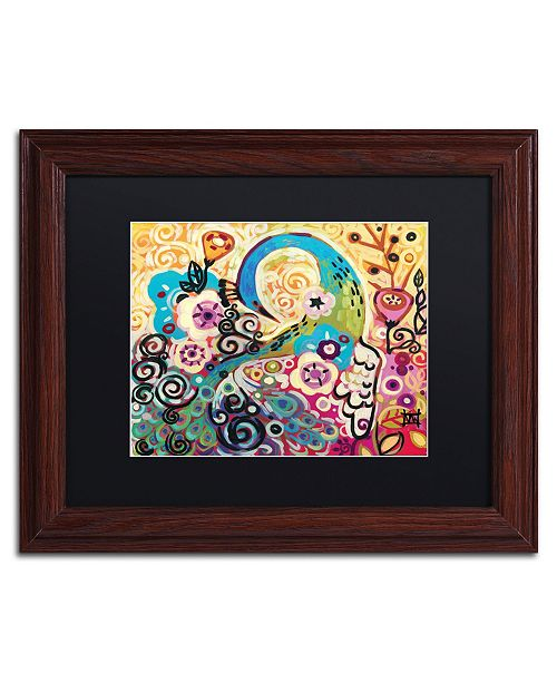 "Trademark Global Natasha Wescoat '046' Matted Framed Art - 11"" x 14"""