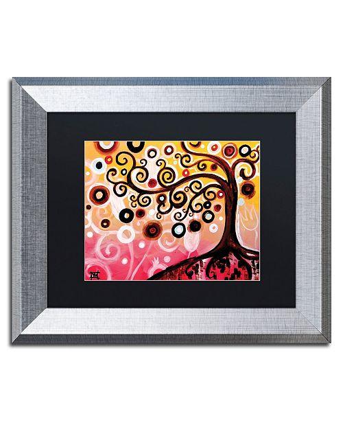 "Trademark Global Natasha Wescoat '062' Matted Framed Art - 11"" x 14"""