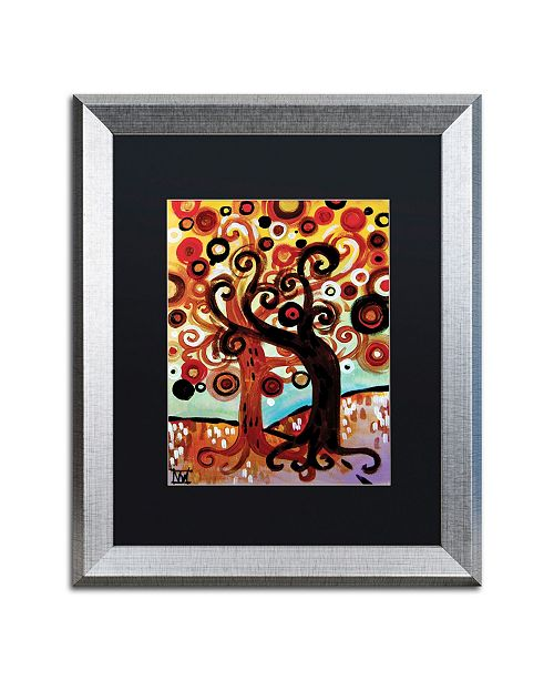 "Trademark Global Natasha Wescoat '072' Matted Framed Art - 16"" x 20"""