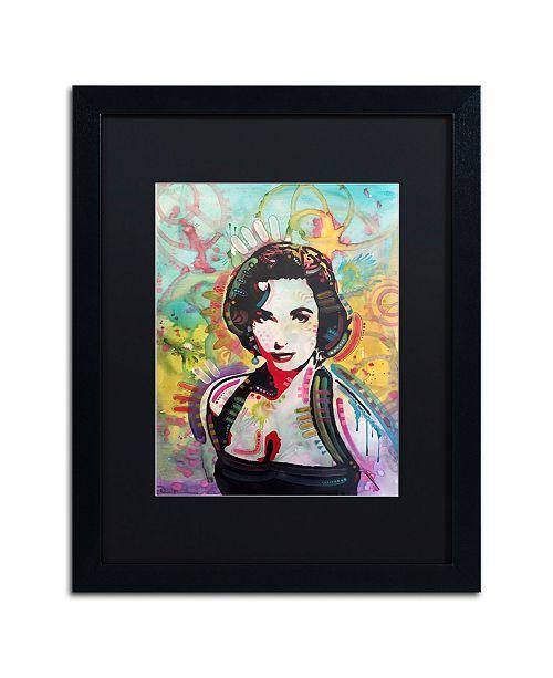 """Trademark Global Dean Russo 'Liz' Matted Framed Art - 16"""" x 20"""""""