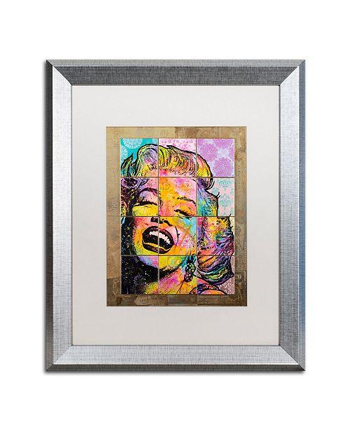 "Trademark Global Dean Russo 'Marilyn' Matted Framed Art - 16"" x 20"""