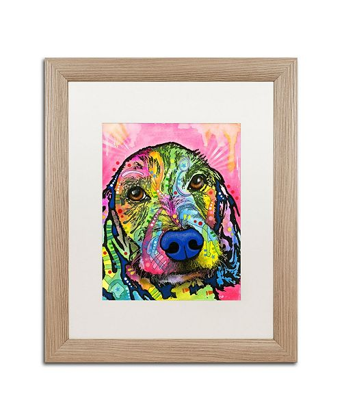 """Trademark Global Dean Russo 'Take me Home Please' Matted Framed Art - 16"""" x 20"""""""