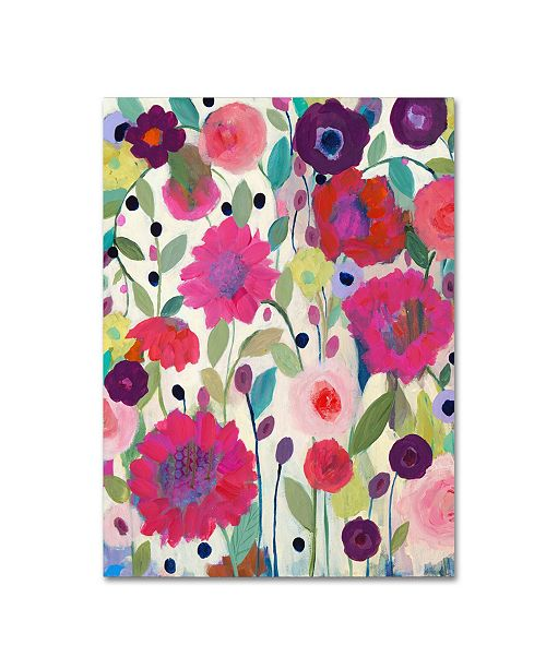 """Trademark Global Carrie Schmitt 'Spirit Weaver' Canvas Art - 35"""" x 47"""""""