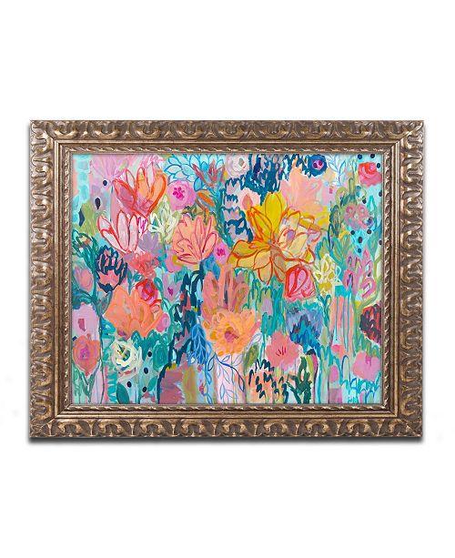 """Trademark Global Carrie Schmitt 'Exhalation 6000' Ornate Framed Art - 11"""" x 14"""""""