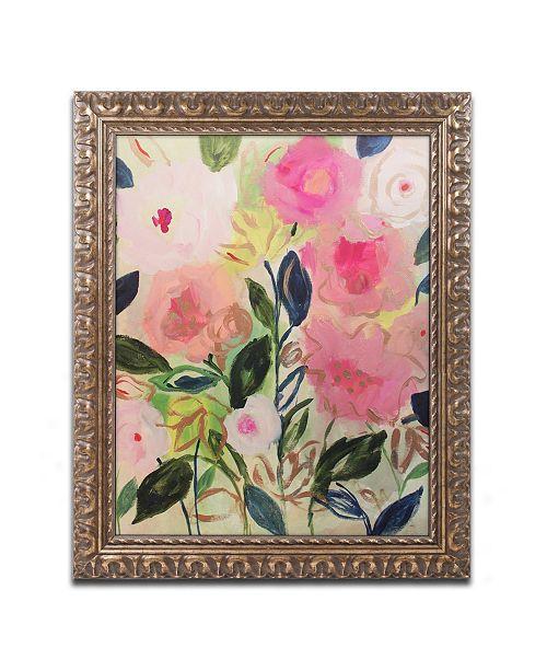 "Trademark Global Carrie Schmitt 'Into The Mystic' Ornate Framed Art - 11"" x 14"""
