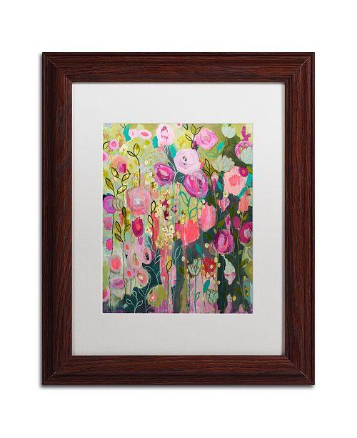 "Trademark Global Carrie Schmitt 'After Time With You' Matted Framed Art - 11"" x 14"""