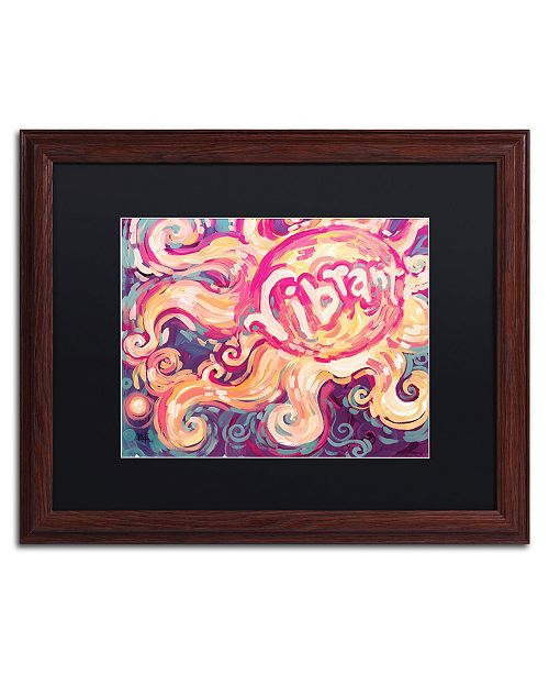 "Trademark Global Natasha Wescoat '118' Matted Framed Art - 16"" x 20"""