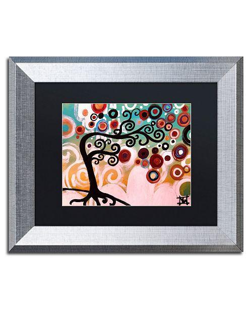 "Trademark Global Natasha Wescoat '138' Matted Framed Art - 11"" x 14"""