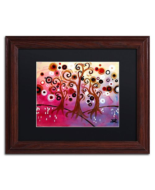 "Trademark Global Natasha Wescoat 'Infinite Treasures' Matted Framed Art - 11"" x 14"""