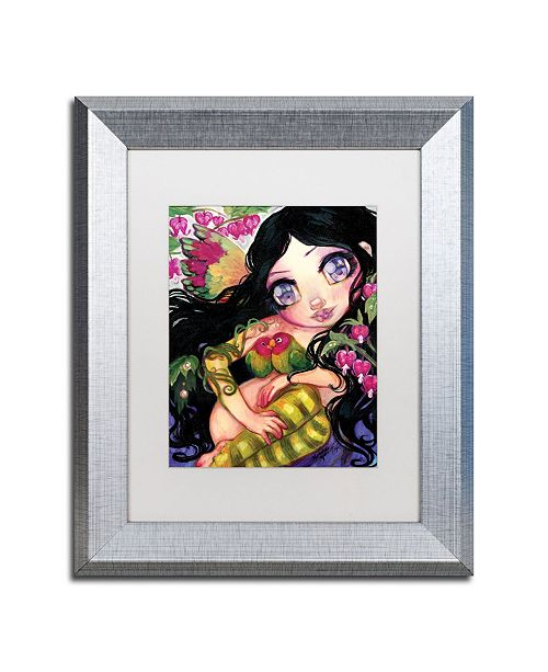 "Trademark Global Natasha Wescoat 'Love Is In The Air' Matted Framed Art - 11"" x 14"""