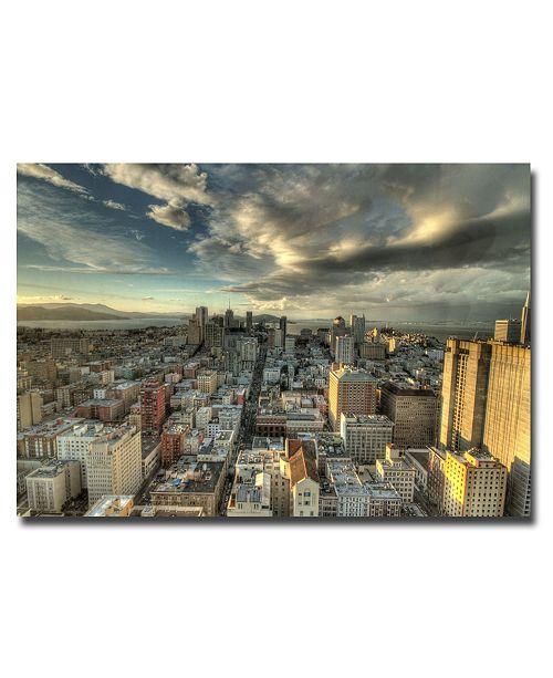 Trademark Global Ariane Moshayedi 'San Francisco Downtown