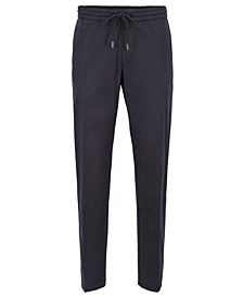 BOSS Men's Banks-SPW Paper-Touch Slim-Fit Trousers