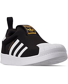 Little Kids Superstar 360 Slip-On Casual Sneakers from Finish Line