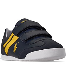 Polo Ralph Lauren Little Boys' Emmons EZ Slip-On Casual Sneakers from Finish Line