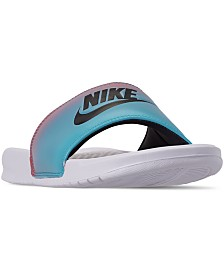 Nike Men's Benassi JDI Printed Slide Sandals from Finish Line