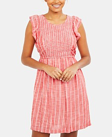 Motherhood Maternity Tiered Nursing Dress