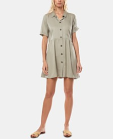 O'Neill Juniors' Bryson Fit & Flare Shirtdress