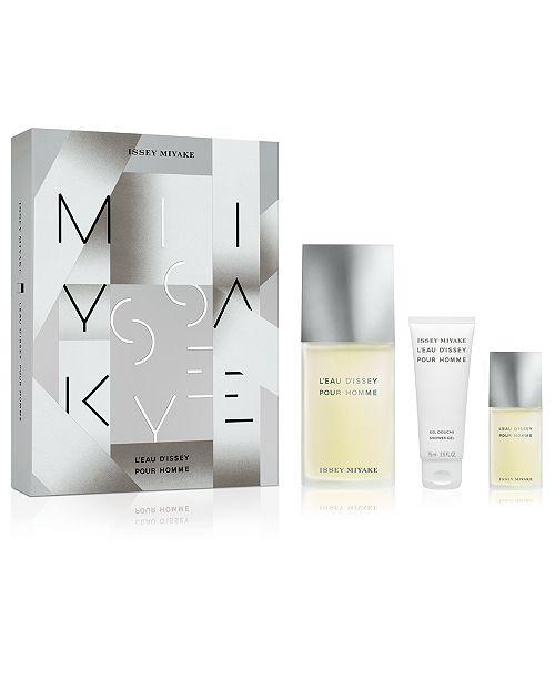 Issey Miyake Men's 3-Pc. L'Eau d'Issey Pour Homme Eau de Toilette Gift Set