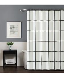 Truly Soft Kurt Windowpane Shower Curtain