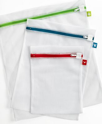 mesh laundry bags whitmor mesh wash bags set of 3 color coded cleaning 30633