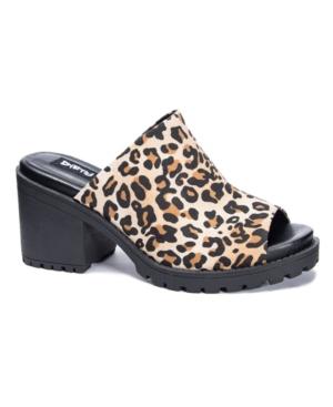 Fair Play Peep Toe Mules Women's Shoes