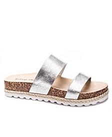 Double Play Flatform Sandals