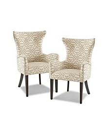 Angelica Dining Arm Chair, Set Of 2