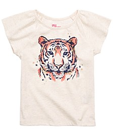 Little Girls Tiger T-Shirt, Created for Macy's
