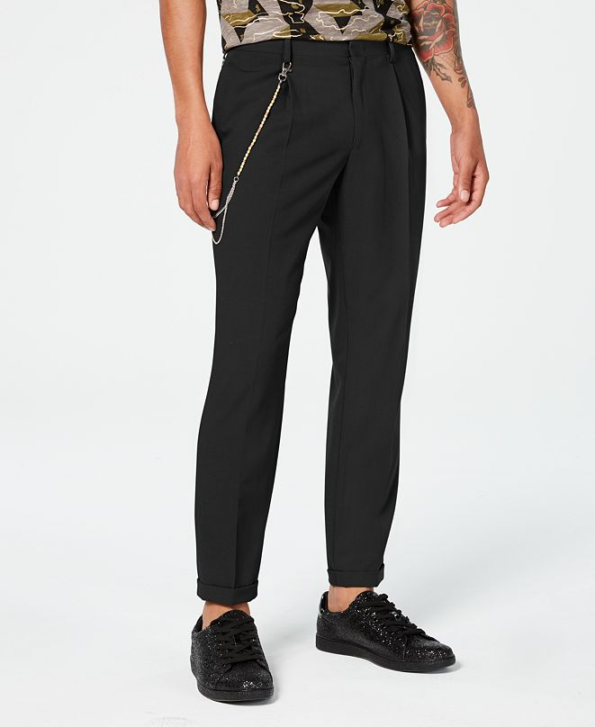 INC International Concepts INC Men's Slim-Fit Pleated Pants, Created for Macy's