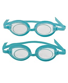 Blue Wave 3D Action Kids Swim Goggles - 2 Pack