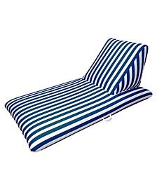 Navy Blue Pool Chaise Lounge - Morgan Dwyer Signature