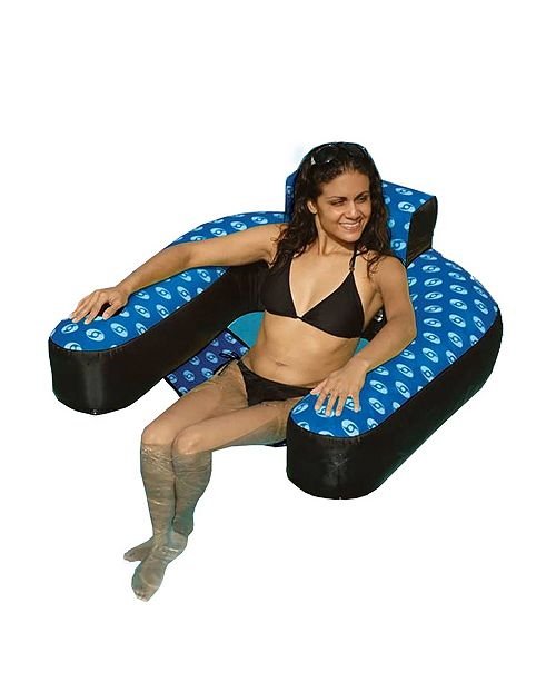 Swimline Fabric Covered Suspend Chair Pool Inflatable
