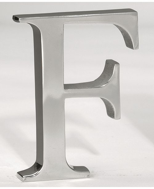 """St. Croix KINDWER 6"""" Aluminum Letter F"""