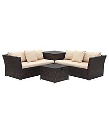Welch Outdoor Sectional Set