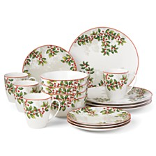 Lenox Holiday Knoll 16 Piece Dinnerware Set