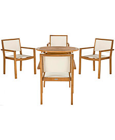 Chante 5Pc Outdoor Dining Set