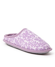 Women's Flocked Clog Slipper, Online Only