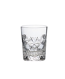 2019 Snowflake Wishes Propserity Double Old-Fashioned Glass