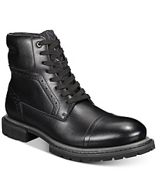 I.N.C. Tull Cap-Toe Boots, Created for Macy's
