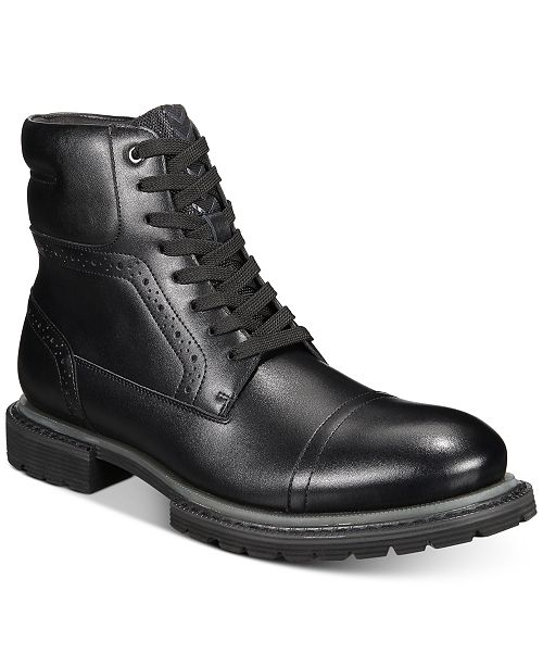 INC International Concepts INC Tull Cap-Toe Boots, Created for Macy's