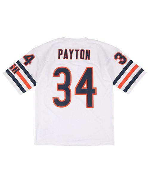 56188ece Men's Walter Payton Chicago Bears Authentic Football Jersey