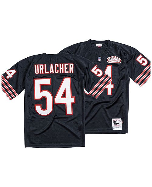 low priced f5742 539e9 Men's Brian Urlacher Chicago Bears Authentic Football Jersey