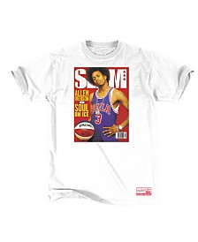Mitchell & Ness Men's Allen Iverson Philadelphia 76ers Slam Cover T-Shirt