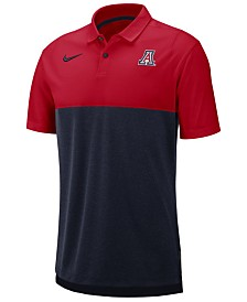 Nike Men's Arizona Wildcats Dri-Fit Colorblock Breathe Polo